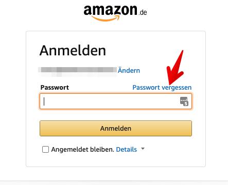 2020-10-14 Amazon Passwort zurücksetzen 2