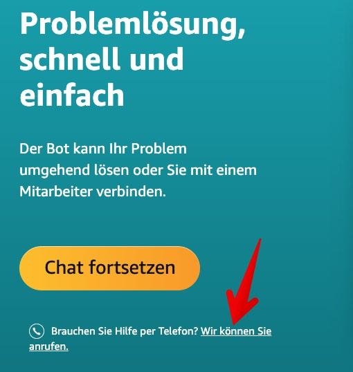 Amazon Kundendienst Anrufen