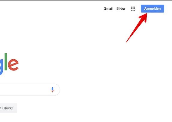Google Konto einrichten Bild 1