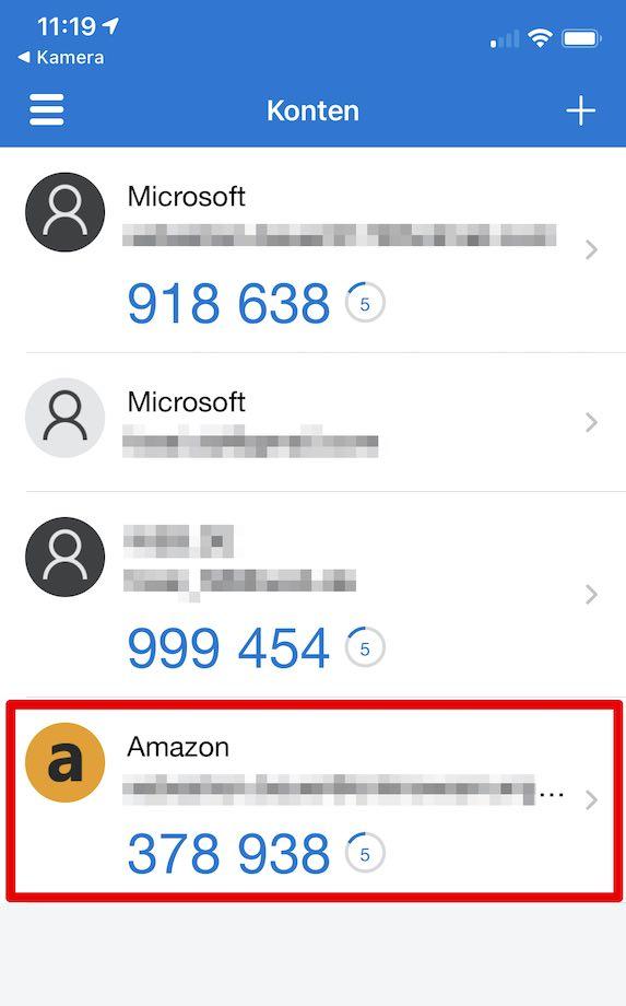 Amazon 2SV einrichten Bild 13_1