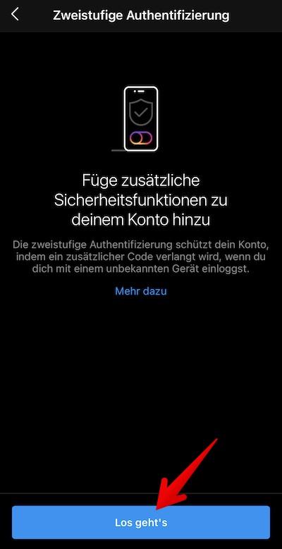 Instagram 2FA Bild 14