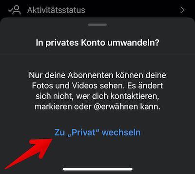 Instagram Privat Bild 8