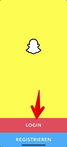 Snapchat Konto reaktivieren 1
