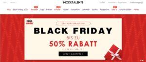 2020-11-11 modetalente.com Startseite