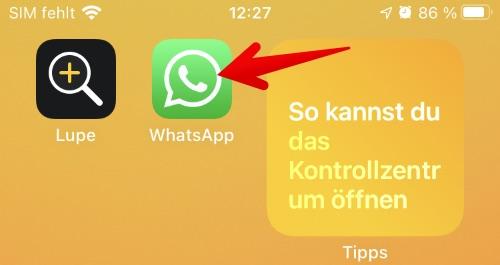Anleitung WhatsApp einrichten 1