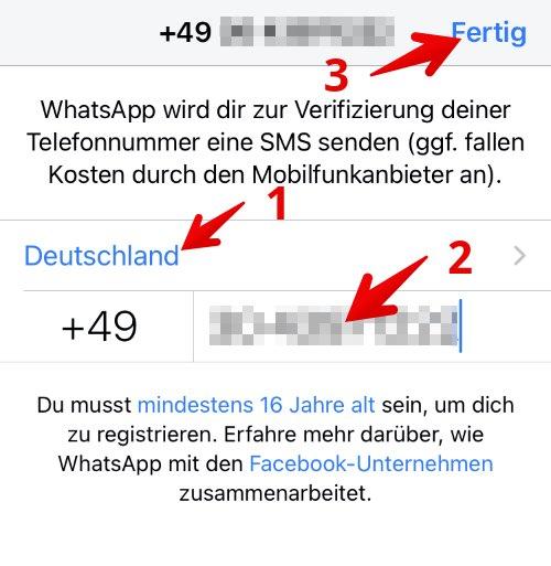Anleitung WhatsApp einrichten 4