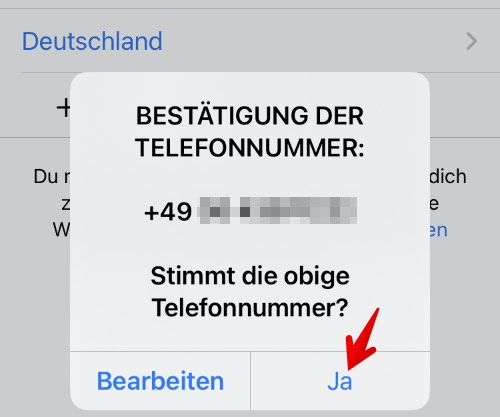 Anleitung WhatsApp einrichten 5