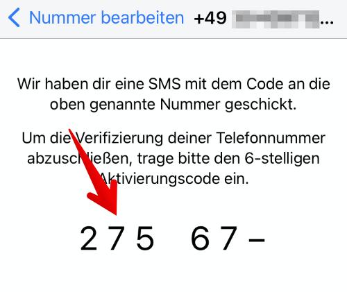 Anleitung WhatsApp einrichten 6