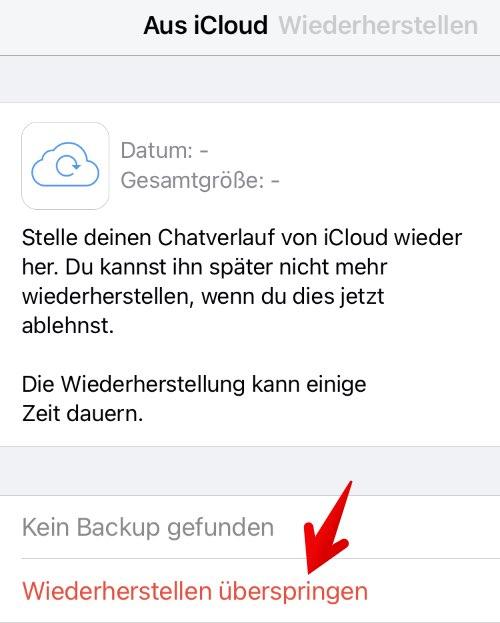 Anleitung WhatsApp einrichten 7