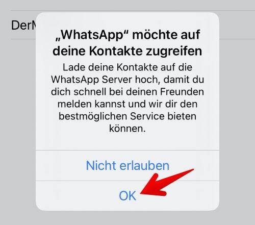 Anleitung WhatsApp einrichten 8