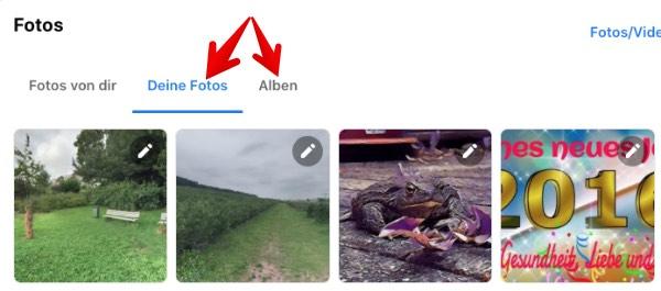 Facebook Anleitung Web-App Fotos loeschen 3