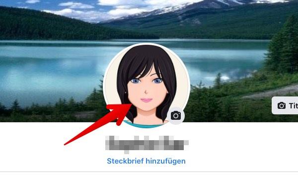 Facebook-Profilbild aufrufen
