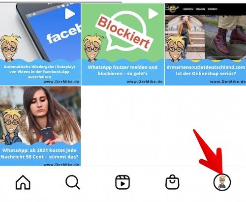 Instagram mehrere Konten einrichten 1