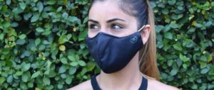 Mund- Nasenschutz Maske Symbolbild