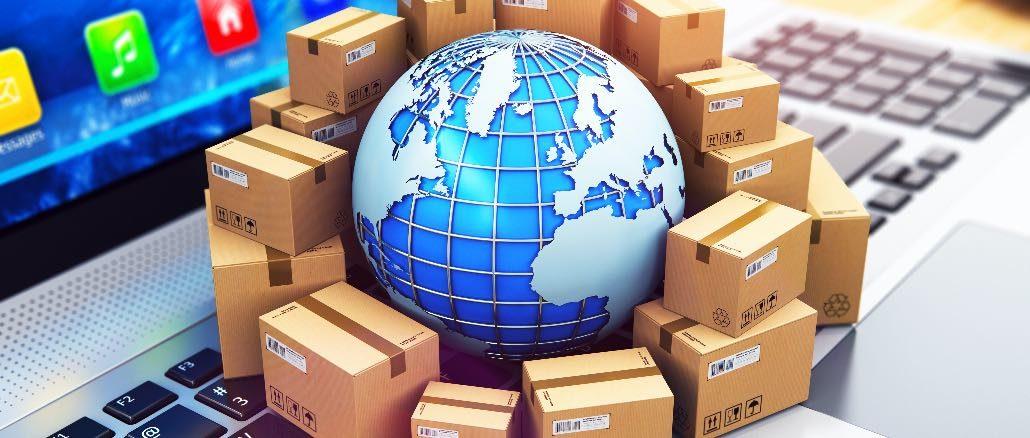 Onlineshopping Weltweit Ausland Symbolbild