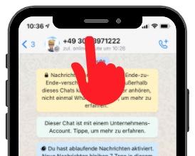 WhatsApp Ablaufende Nachrichten 1