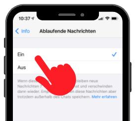 WhatsApp Ablaufende Nachrichten 3