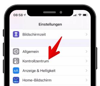 iPhone Bildschirmaufnahme aktivieren 2