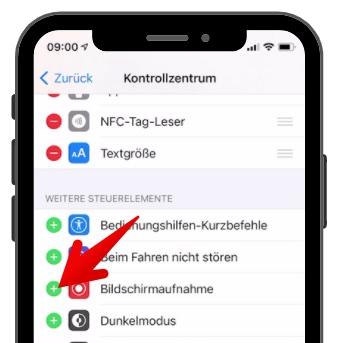 iPhone Bildschirmaufnahme aktivieren 3