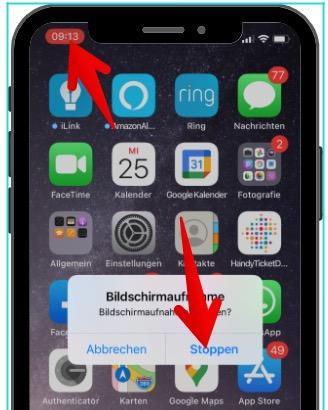 iPhone Bildschirmaufnahme aktivieren 6