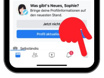 Facebook-App Aktiv-Status ausschalten 1