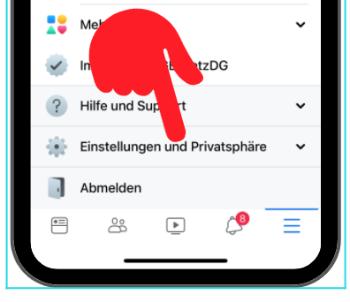 Facebook-App Aktiv-Status ausschalten 2