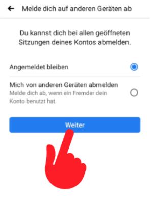 Facebook Passwort vergessen 5