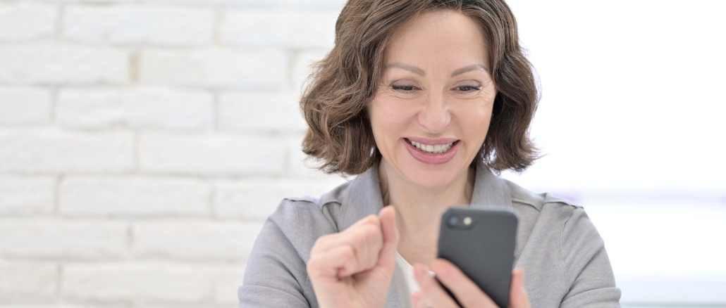 Handy Smartphone Freude