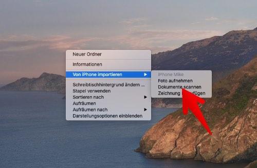 Mac Dokumente mit iPhone scannen 2