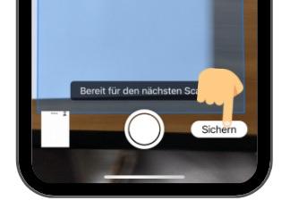 Mac Dokumente mit iPhone scannen 4