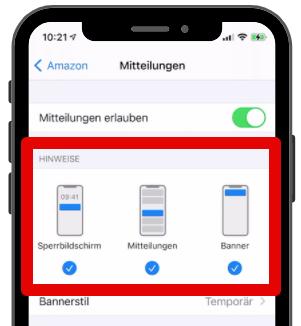 Push-Mitteilungen konfigurieren 4