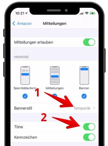 Push-Mitteilungen konfigurieren 5