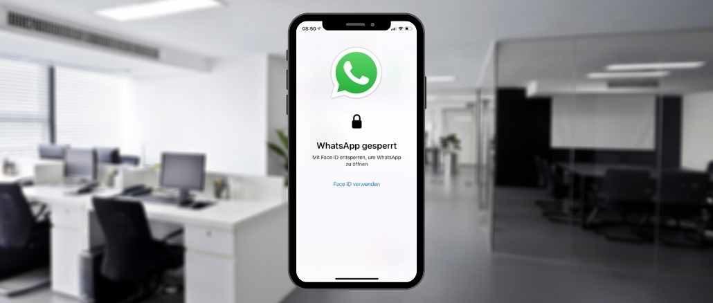 WhatsApp Bildschirmsperre einrichten