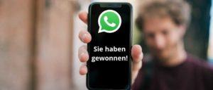 WhatsApp Gewinn Nachricht