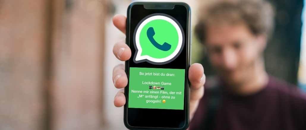 WhatsApp Kettenbrief Lockdown Game