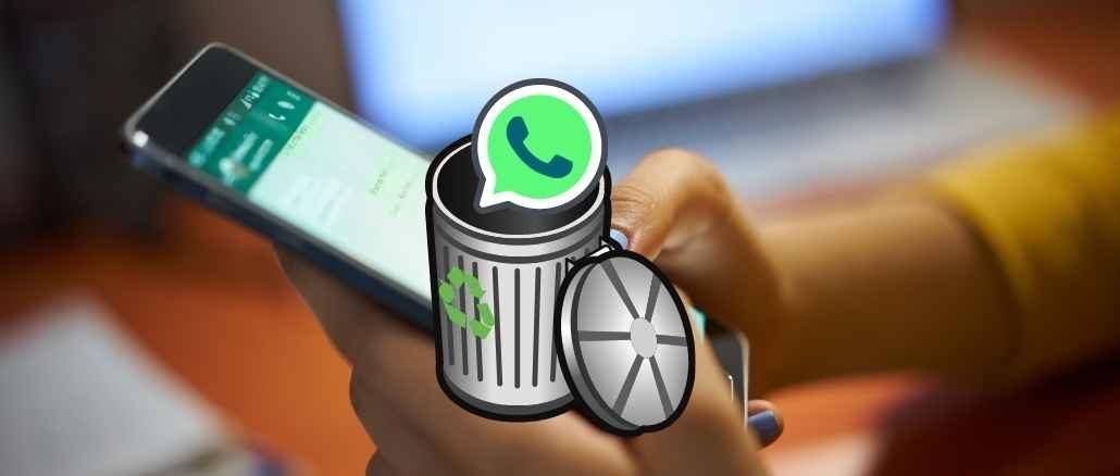 Whatsapp status löschen kein papierkorb