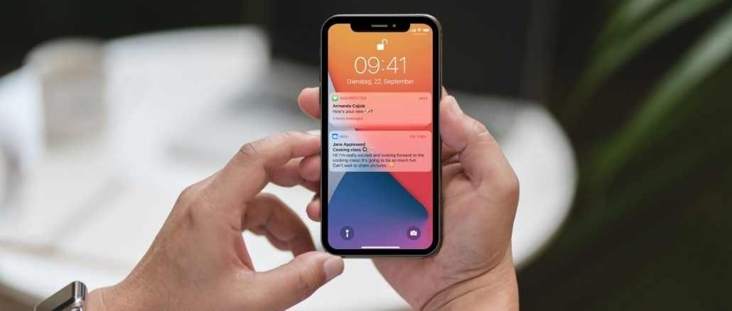 iOS Push-Mitteilungen konfigurieren