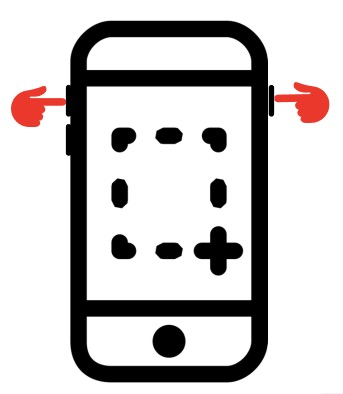 iPhone Screenshot Touch ID