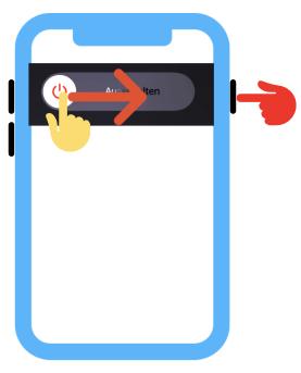 iPhone ausschalten iPhone SE 2. Generation, 8, 7 oder 6
