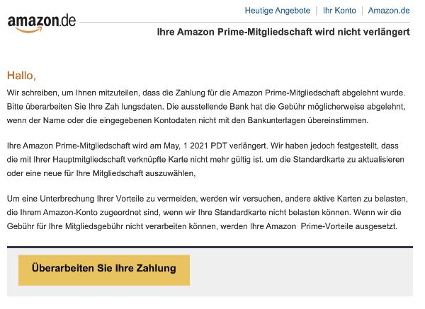 2021-05-13 Amazon Spam Fake-Mail Rechnungen Zahlungen Transaktionen