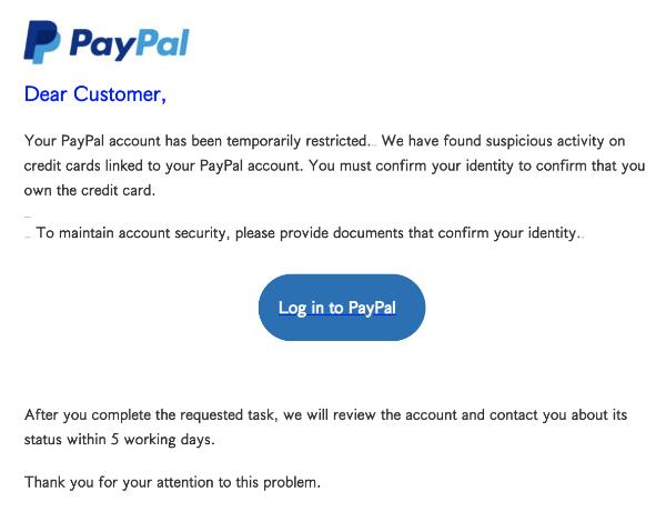 2021-06-27 PayPal Spam Fake-Mail