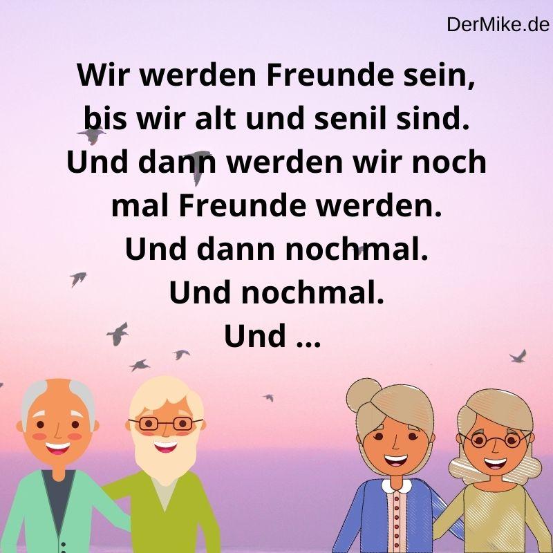#Spruch 18 Freundschaft Lustig