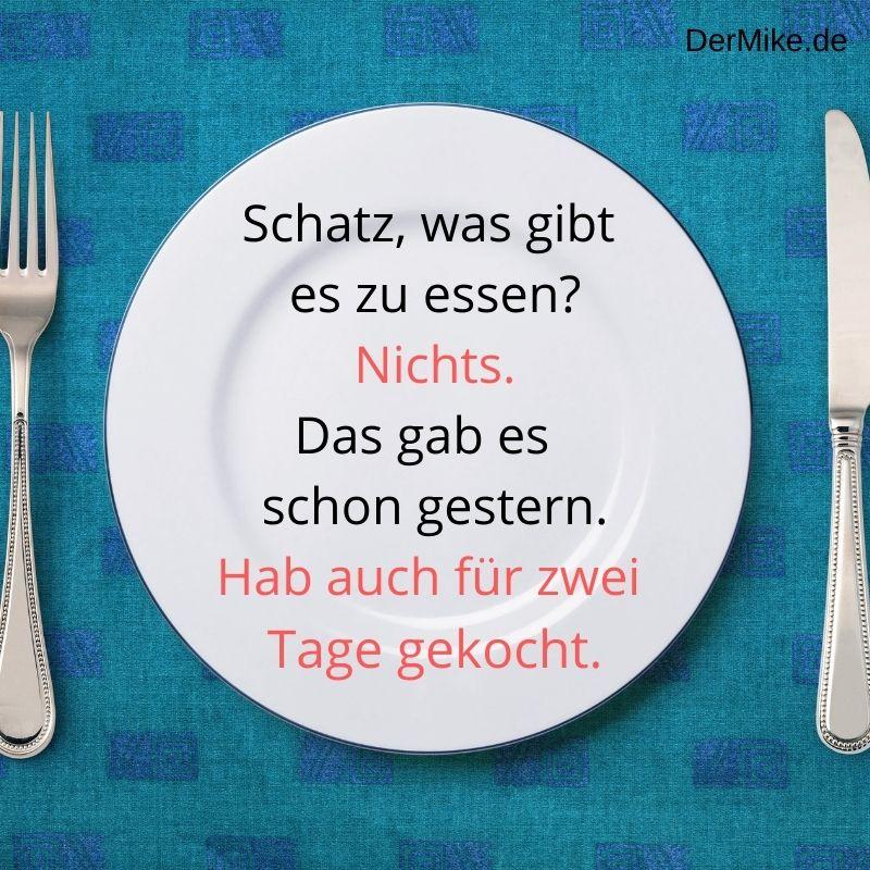 #Spruch 23 Essen Lustig