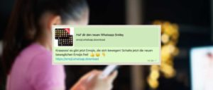 WhatsApp Kettenbrief Smiley