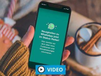 WhatsApp im WhatsApp Status Echt oder Fake