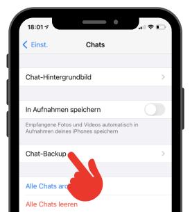 iPhone WhatsApp Backup 2