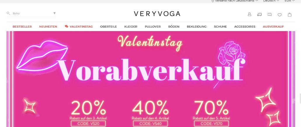 Veryvoga.com Bewertungen Erfahrungen