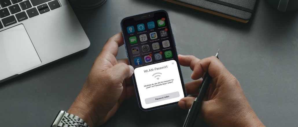 iPhone WLAN-Passwort teilen