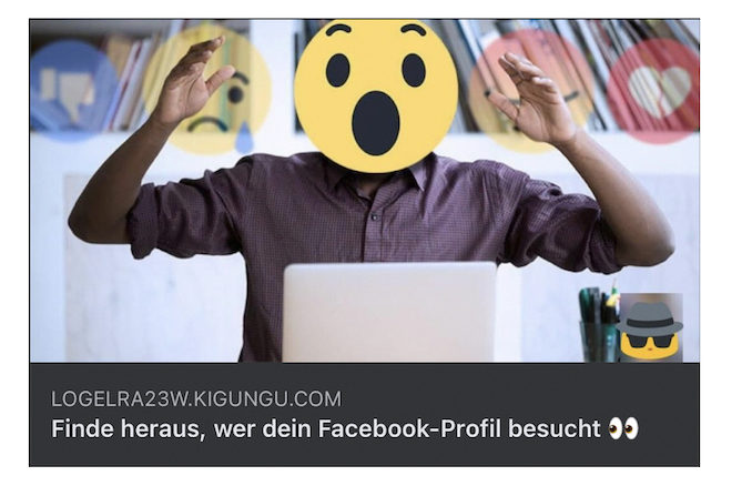 2021-07-21 Facebook Phishing Artikelbild